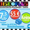 Discoplus nur noch wenige Tage mit 45,- Euro Startguthaben!