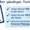 O2 All inclusive Tarif für nur 9,95 Euro pro Monat