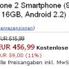 Motorola Milestone 2 bereits erhältlich