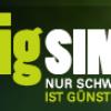 BigSIM: Prepaid Tarif im D1 Netz mit 35,- Euro Startguthaben