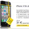iPhone 4 für monatlich 31,- Euro inkl. Datenflat bei BASE zu haben