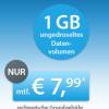 Sparhandy: O2 Datenflat mit nur 6 Monaten Laufzeit für 7,99 Euro