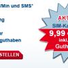 Allmobil Prepaid SIM-Karte faktisch kostenlos