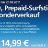 O2 Prepaid Surfstick für 14,99 Euro im Sonderangebot