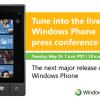 Microsoft stellt neue Windows Phone 7 Version (Mango Update) via Livestream vor
