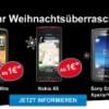Weihnachtsspecial bei Congstar: Surf Flat und Smartphone zu weihnachtlichen Preisen