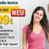 Aldi mit neuer All-In-Flat 2.000 für 19,99 Euro