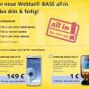 Base all in: Neues Flatrate-Angebot und Offerte für Samsung Galaxy S3