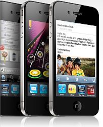 Das iPhone 4 auch via Discoplus bestellbar.