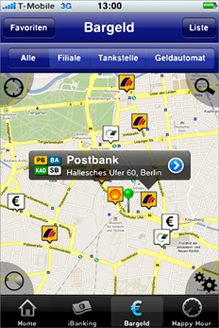 Postbank iPhone App