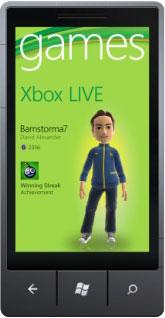 Phone 7 und Xbox Live