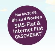 CallYa Freikarte mit kostenloser SMS- und UMTS-Flatrate