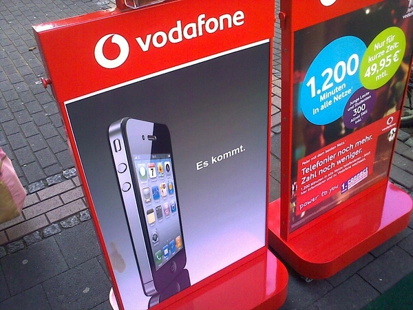 Das iPhone 4 bei Vodafone