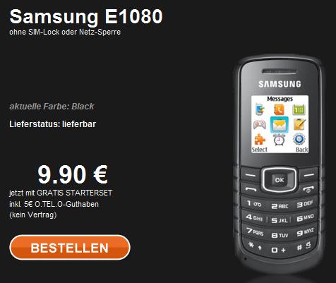 O.tel.o Prepaid Handy Angebot
