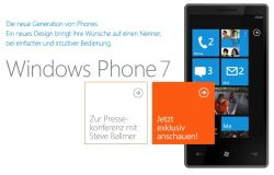 Windows Phone 7 - IFA 2010