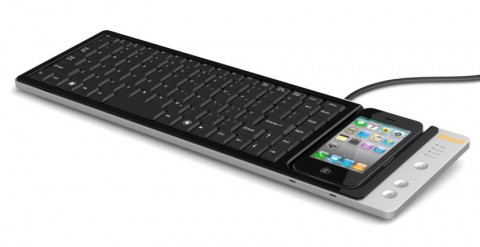 Wowkeys - Tastatur mit iPhone Dock