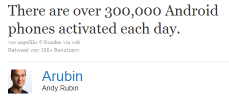 Andy Rubin bei Twitter