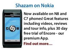 Die Shazam App nun auch für Nokia Smartphones