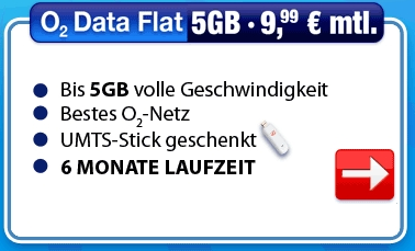 Die O2 Active Data Aktion von eteleon.de