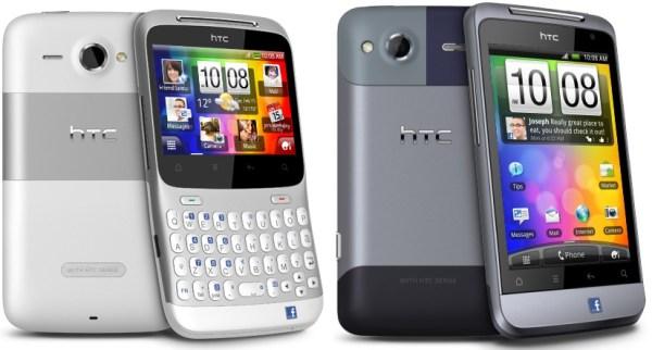Facebook Smartphones von HTC