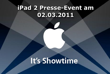 iPad 2 Presse-Event am 02.03.2011