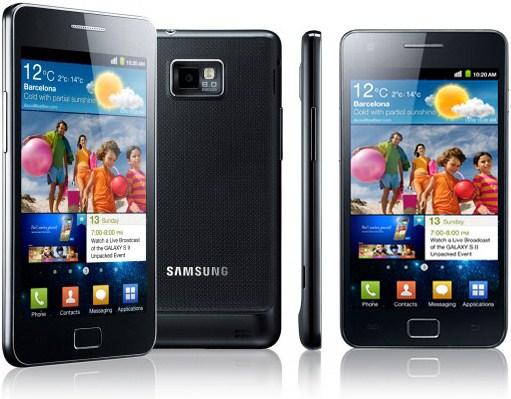 Das Samsung Galaxy S2 erhält Android 2.3.4
