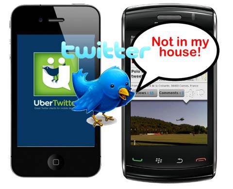 Twitter sperrt Ubertwitter