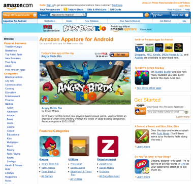 Amazon Appstore ist online