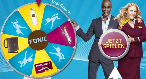 Fonic Germanwings Gewinnspiel