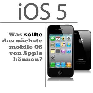 iOS 5 Funktionen