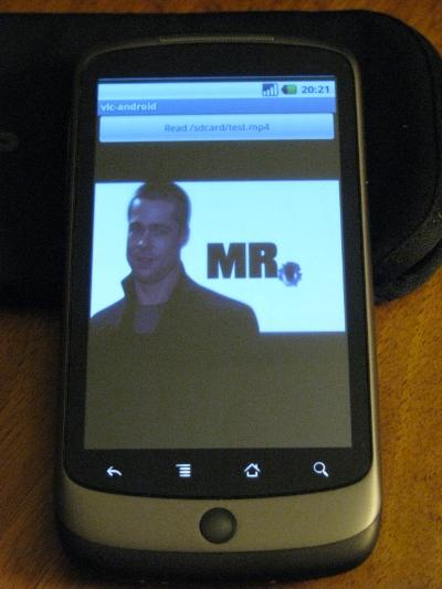 Der VLC Player für Android im Einsatz