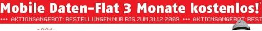 Klarmobil UMTS Flatrate gratis!