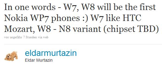 Nokia W8