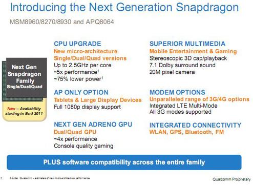 Neue Snapdragon Prozessoren aufgetaucht
