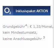 O2 Angebot von Sparhandy.de