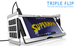 Triple Flip Smartphone