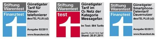 Discotel Plus mehrmaliger Testsieger 2011