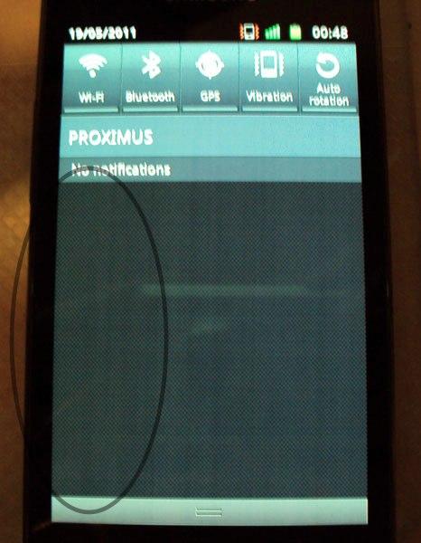 Galaxy S2 Display Bug