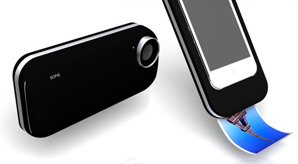 iPhone 4 mit Polaroid Funktion