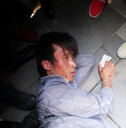 Verletzte beim chinesischen iPad 2 Release