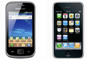 Samsung Galaxy S & iPhone 3G