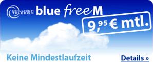 O2 Blue M Angebot bei eteleon