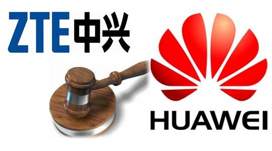 ZTE verklagt Huawei