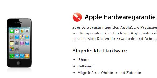 Apple Care: Garantieverlängerung für Dein iPhone