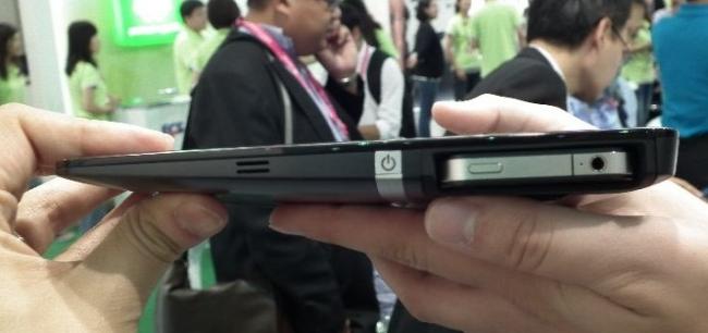 ECS Tablet mit Smartphonedock