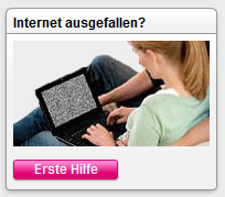 Sieht so echt ein Internet Ausfall aus? Krass!