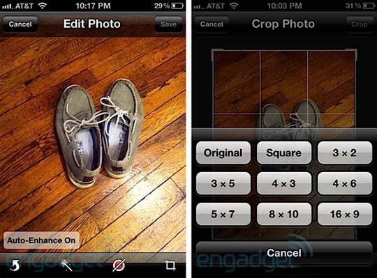 iOS 5 neue Bilderfunktionen