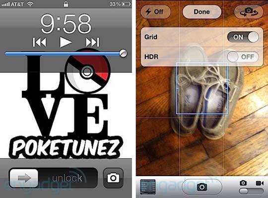 iOS 5 mit neuen Kamerafunktionen