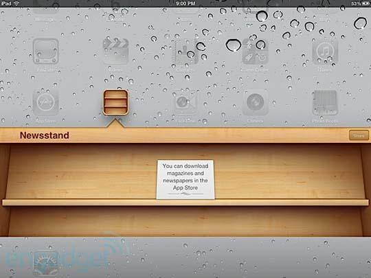 iOS 5 mit Newsstand Funktion - Der Kios fürs iPhone