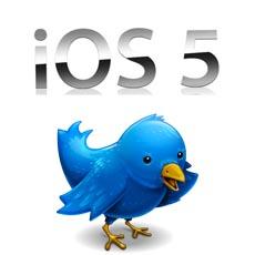 iOS 5 mit direkter Twitteranbindung?